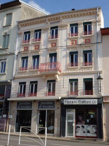 Façade à Oyonnax après l'opération rénovation de façade - ©Urbanis