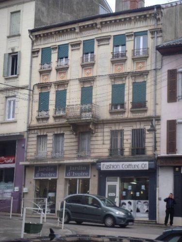 Façade à Oyonnax avant l'opération rénovation de façade - ©Urbanis